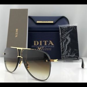 DITA DECADE TWO AVIATOR SUNGLASSES LIMITED EDITION